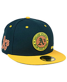 New Era Oakland Athletics X Wilson Circle Patch 59FIFTY Fitted Cap