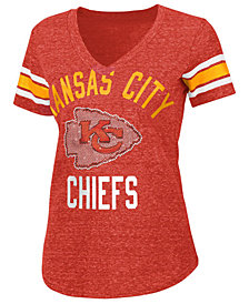 G-III Sports Women's Kansas City Chiefs Big Game Rhinestone T-Shirt
