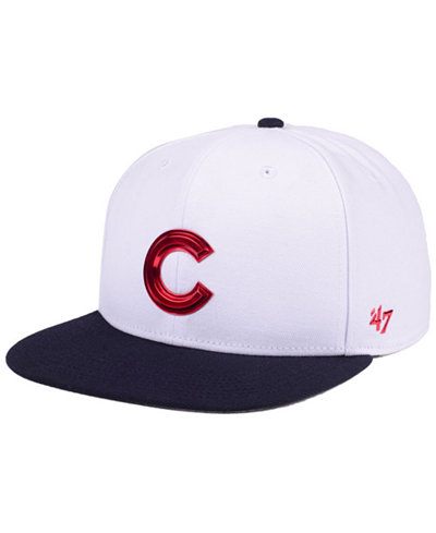 '47 Brand Chicago Cubs Firework CAPTAIN Cap