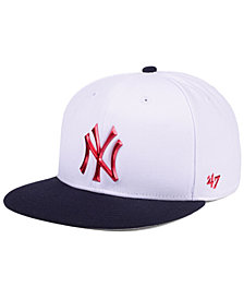 '47 Brand New York Yankees Firework CAPTAIN Cap