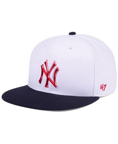 '47 Brand New York Yankees Firework CAPTAIN Cap