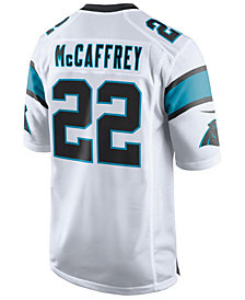 Nike Men's Christian McCaffrey Carolina Panthers Game Jersey