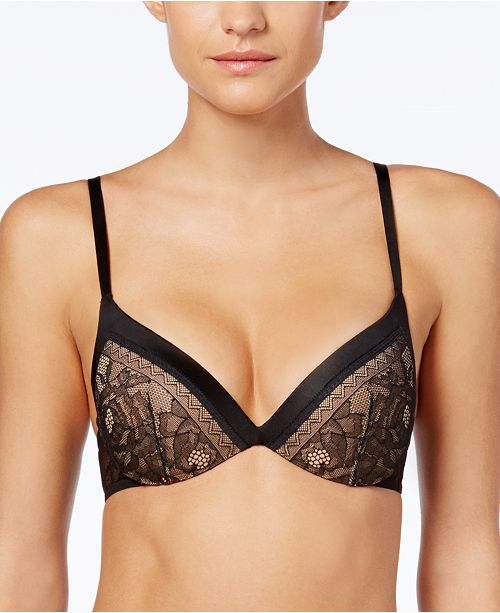 abcdb5683a9b67 Calvin Klein CK Black Obsess Push-Up Bra QF1941   Reviews - All Bras ...