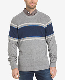 IZOD Men's Stripe Crew Sweater