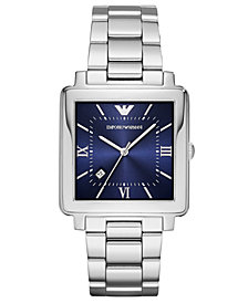 Emporio Armani Men's Stainless Steel Bracelet Watch 38x38mm