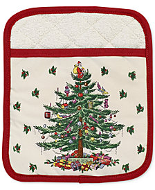 Spode Christmas Tree Pot Holder, Created for Macy's