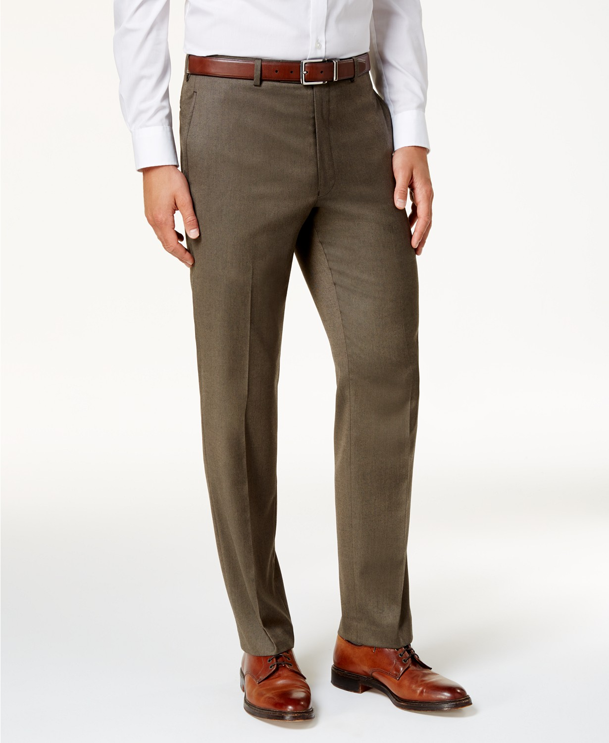 Ralph Lauren Men's Covert Twill Ultraflex Dress Pants