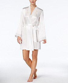 Midnight Short Wrap Robe