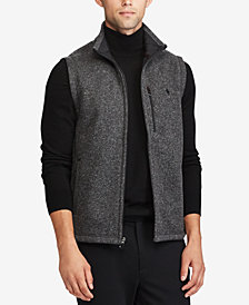 Polo Ralph Lauren Men's Fleece Mock-Neck Vest