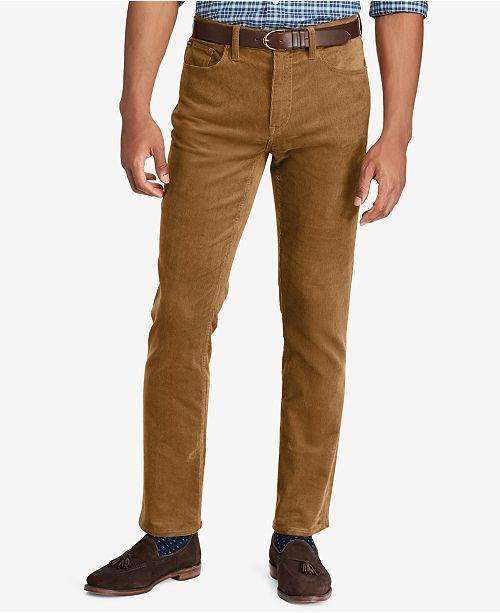 bed68a921e40ec Polo Ralph Lauren Men's Varick Slim Straight Corduroy Pants ...