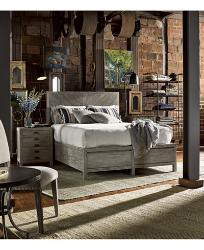 Broadstone Storage Bedroom Furniture, 3-Pc. Set (King Bed, Chest ...