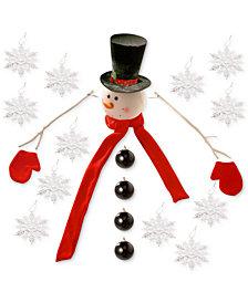 National Tree Company Snowman Tree Kit