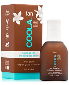 Tan Sunless Tan Anti-Aging Face Serum