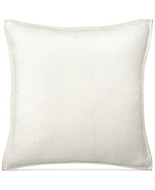 CLOSEOUT! Lauren Ralph Lauren Yasmine Cotton Herringbone European Sham