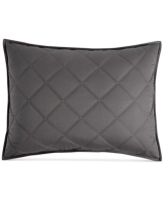 Fretwork Quilted Standard Sham, Created for Macy's