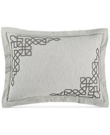 Hotel Collection Embroidered Fretwork Standard Sham, Created for Macy's