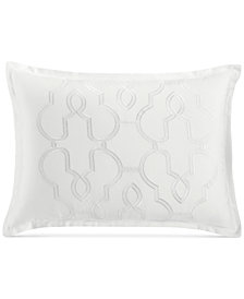 CLOSEOUT! Hotel Collection Inlay Cotton Standard Sham, Created for Macy's