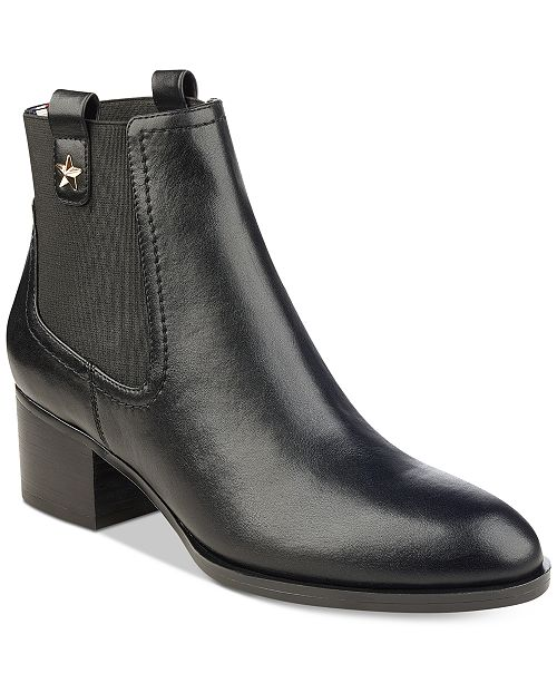 c03a4088 Tommy Hilfiger Roxy Booties & Reviews - Boots - Shoes - Macy's