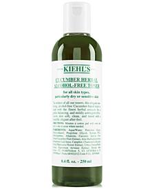 Cucumber Herbal Alcohol-Free Toner, 8.4-oz.