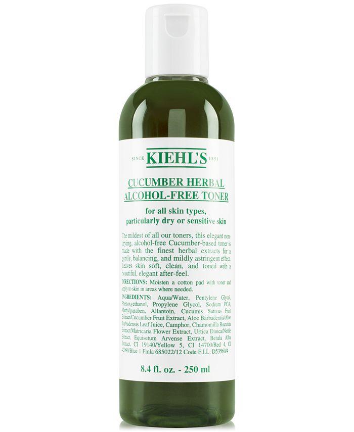 Kiehl's Since 1851 - Cucumber Herbal Alcohol-Free Toner, 8.4-oz.