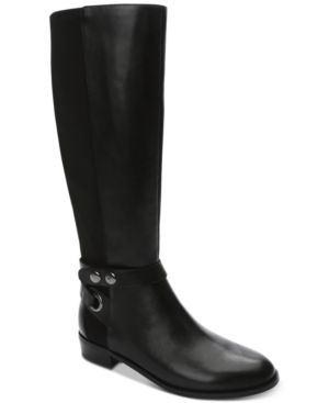 ROOSTER WIDE-CALF TALL RIDING BOOTS WOMEN'S SHOES