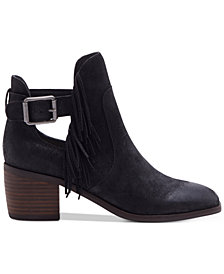 Lucky Brand Women's Makenna Fringe Booties