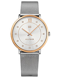 Tommy Hilfiger Women's Stainless Steel Mesh Bracelet Watch 40mm