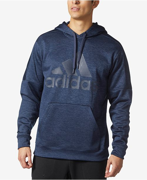 adidas Men's ClimaWarm® Team Issue Logo Hoodie