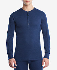 2(x)ist Men's Sport Tech Long-Sleeve Henley