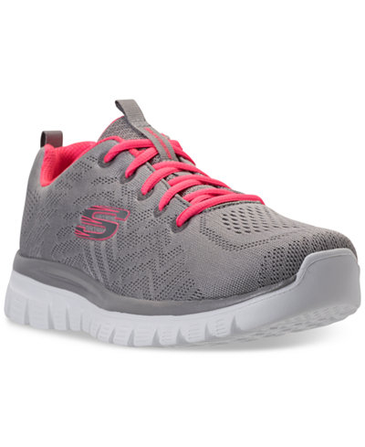 Skechers Women's Graceful - Get Connected Athletic Sneakers from Finish Line
