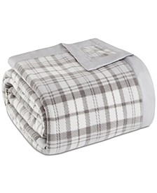 Plaid Micro-Fleece Blanket