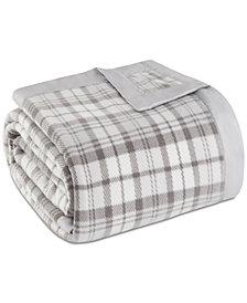 True North by Sleep Philosophy Plaid Micro-Fleece Blanket
