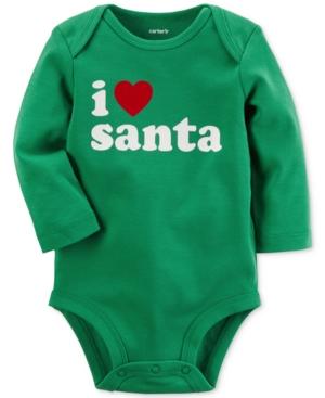Carter's I Heart Santa...