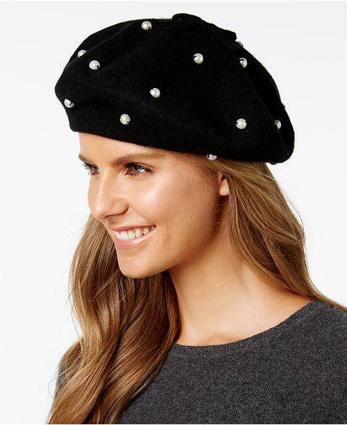 kate spade new york Imitation Pearl Beret - Handbags   Accessories ... 6294bbfe6a8