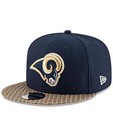 New Era Los Angeles Rams Sideline 9FIFTY Snapback Cap