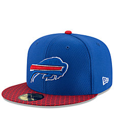 New Era Boys' Buffalo Bills Sideline 59FIFTY Fitted Cap
