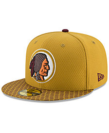New Era Boys' Washington Redskins Sideline 59FIFTY Fitted Cap