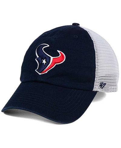 '47 Brand Houston Texans Deep Ball Mesh CLOSER Cap