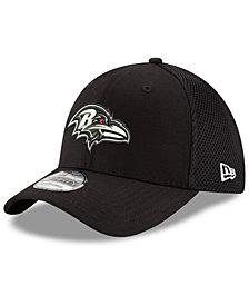New Era Baltimore Ravens Black/White Neo MB 39THIRTY Cap