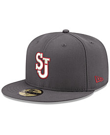 New Era St Johns Red Storm Shadow 59FIFTY Fitted Cap