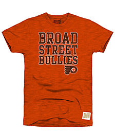 Retro Brand Men's Philadelphia Flyers First Line Logo T-Shirt