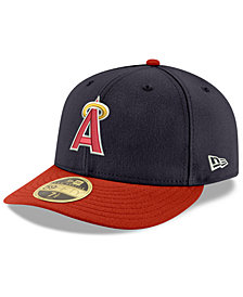 New Era Los Angeles Angels Cooperstown Low Profile 59FIFTY Fitted Cap