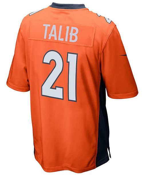 huge selection of 9b0f6 81120 Nike Men's Aqib Talib Denver Broncos Game Jersey & Reviews ...