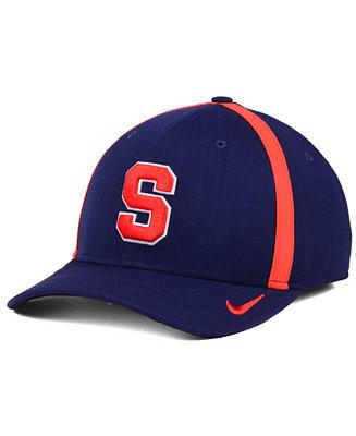 8c75130c1bd ... sweden nike syracuse orange aerobill classic sideline swoosh flex cap  sports fan shop by lids men
