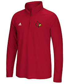 adidas Men's Louisville Cardinals Ultimate Quarter-Zip Pullover