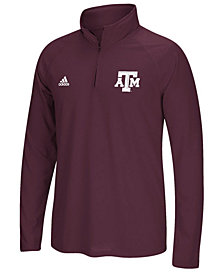 adidas Men's Texas A&M Aggies Ultimate Quarter-Zip Pullover