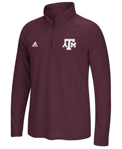 adidas Men's Texas A&M Aggies Ultimate Quarter-Zip Pullover