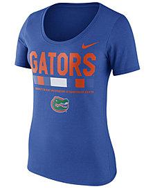 Nike Women's Florida Gators Sideline Scoop T-Shirt