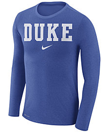 Nike Men's Duke Blue Devils Marled Long Sleeve T-Shirt