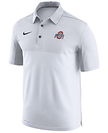 Nike Men's Ohio State Buckeyes Elite Coaches Polo